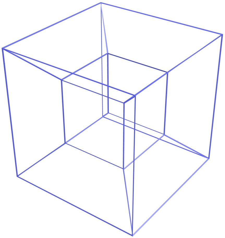 Segments 8 3d Wireframe Cube - Wiring Diagram